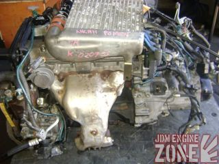 JDM Toyota Corolla Supercharged Engine Motor 5 Speed Transmission 4AGZE
