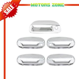 97 02 Ford F150 Chrome Door Handle Tailgate Covers Trim