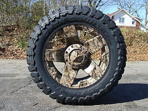 "20"" XD Rockstar Wheels Camo 35x12 50 20 Toyo MT 35"" Tires Ford Chevy Dodge"