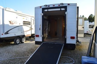 Used Toy Hauler Travel Trailer for Sale 1 2 Ton Towable 2009 Viking V Trec 16