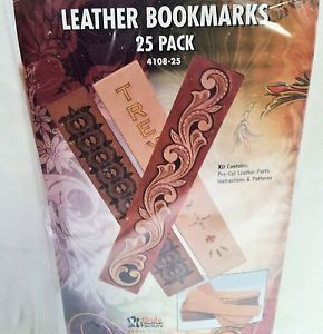 "25 Pack of 1 1 2"" x 8"" Book Mark Marker Kit 4108 25 Tandy Leather Markers Marks"