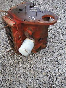 1948 Allis Chalmers G Tractor Original AC Engine Motor Block Good Running