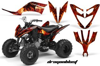Yamaha Raptor 700 660 350 250 Graphics Kit Decals Stickers Dragonblast