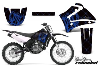 AMR Racing Off Road Graphic Motorcycle Sticker Wrap Kit Yamaha TTR 125 00 07 RUK