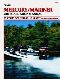 Mercury Marine Outboard Boat Service Repair Manual 1994 1996 115HP 150HP 90HP