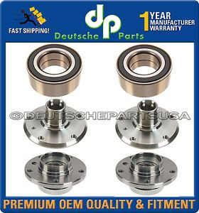 BMW E46 325xi 330xi 330i 330CI Front Rear Wheel Bearing Bearings Hub Hubs 6