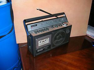 Vintage Sony CFM 23 Boombox Am FM Radio Cassette Player Working