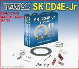 TRANSGO SK®CD4E Jr SHIFT KIT 94+ FORD CD4E MAZDA LA4AEL TRANSMISSIONS