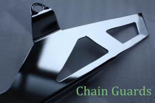 Motorcycle Chrome Chain Guards Fit 2006 2007 2008 2009 Suzuki GSXR 600 750 GSX R