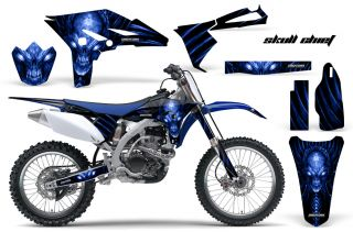 Yamaha YZ250F 2010 2011 2012 Graphics Kit Decals SCBLBL