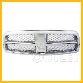 2009 2012 Dodge RAM 1500 Front Grille CH1200326 Honeycomb Chrome Insert Code MF1