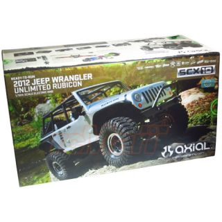Axial SCX10 2012 Jeep Wrangler Unlimited Rubicon 4WD Crawler RTR 2 4GHz AX90028 877493008314
