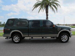 Ford F250 Lariat Super Duty Crew Cab FX4 4x4 6 4L Turbo Diesel Leather Loaded