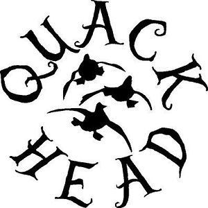 Quack Head Duck Life Hunting Sticker Decal Gun Rifle Truck Bow Car Hunt Hunter