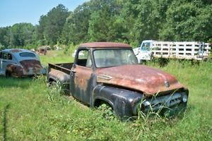 1956 Ford F 100 Pickup Truck Parts Car