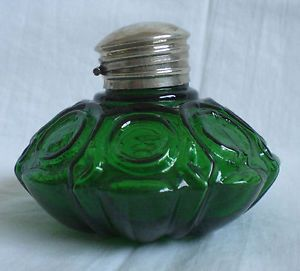 Art Deco Glass Green