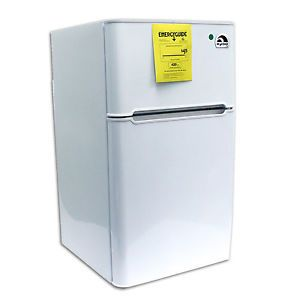 Igloo 3 2 CU ft 2 Door Mini Fridge Refrigerator Freezer FR832 White
