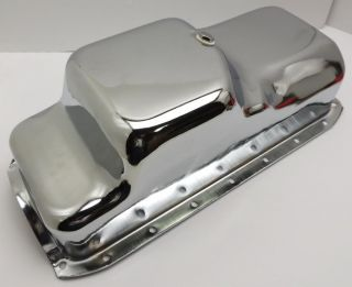 Mopar Dodge Chrysler 1971 80 360 Small Block Chrome Oil Pan Kit Op 360 Kit