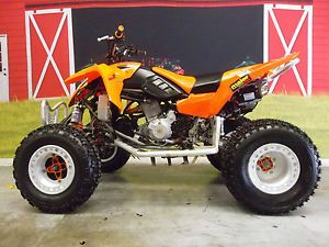 2005 Polaris Predator Troy Lee Designs Edition ITP Rims and Tires FMF EX