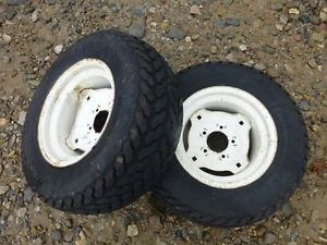 Jacobsen GT12H Tractor Firestone 23x8 50 12 Rear Tires Rims