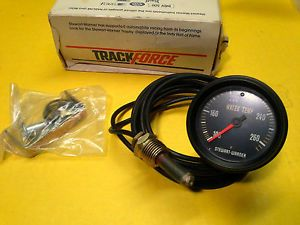 Stewart Warner 2 5 8 Water Temp Gauge Track Force Guage Hot Rod Racing Drag