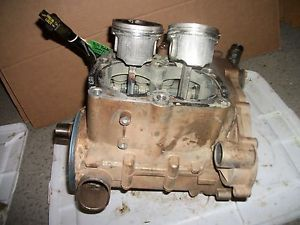 2003 Polaris Sportsman 700 Twin 4x4 Engine Motor Bottom End Cases