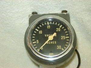 1928 1931 Model A Ford 1932 40 55 Chevy Ford Dodge Stewart Warner Vacuum Gauge