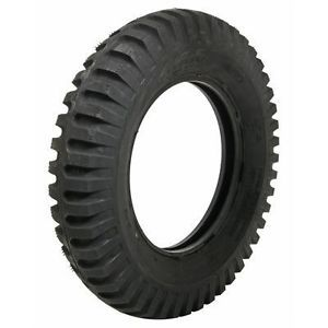 Coker Firestone Military Tire 6 00 16 blackwall Bias Ply 643531 Each