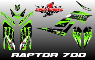 Yamaha Raptor 700 Graphics Kit Parts & Accessories