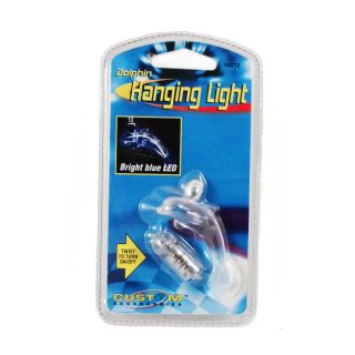 Custom Accessories Hanging Bright Blue LED Car Light Various Characters