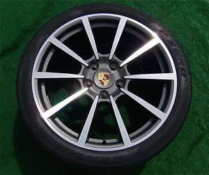 2013 Genuine Factory Porsche 911 Carrera Classic 2 20 inch Wheels Tires 991