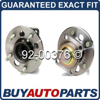 Pair New Premium Quality Rear Wheel Hub Bearing Assembly Buick Chevy Pontiac