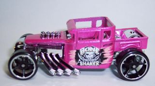 Hot Wheels Pink Bone Shaker Diecast Vehicle HW Showroom American Turbo 181 250