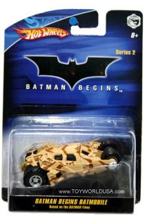 Hot Wheels Batman Begins Series 2 Batman Begins Batmobile