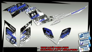 Yamaha Raptor 700 660 250 Sticker Kit Decals Graphic Kit 700R