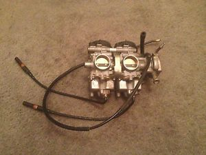 2003 Yamaha Raptor 660 Carburetors Carb