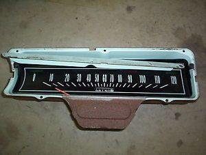 1965 Chevrolet Impala Interior Dash Panel Speedometer Gauge Housing Belair Parts