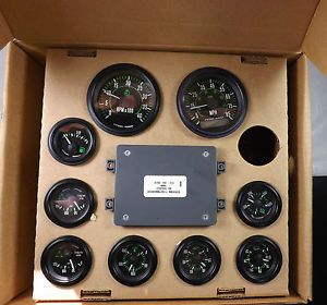 Stewart Warner Gauge Kit Spartan Motors Inc 9 Gauges Included