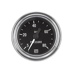 Stewart Warner Oil Pressure Gauge
