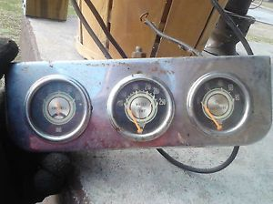 Stewart Warner Gauges Chevelle Caprice 57 Chevrolet Rat Rod