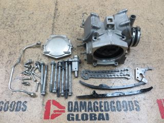 2007 07 Yamaha Raptor YFM700 YFM 700 700R Engine Cylinder Head Top End