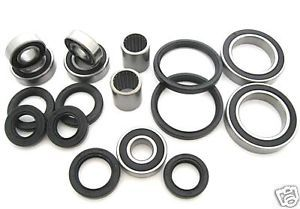 All Wheel Chassis Bearings Seals Kit Yamaha Raptor 660 YFM660R 2001 2002 2003