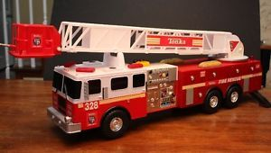 Tonka Titans Fire Engine Truck 3ft Large Toy w Lights Sounds Moving Ladder