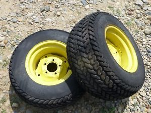 John Deere 212 Tractor Firestone 23x10 50 12 Rear Tires Rims