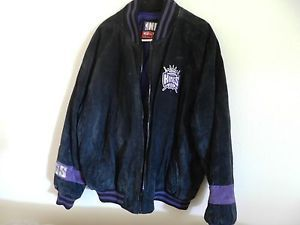 NBA Sacramento Kings Carl Banks G III Leather Jacket Size XL