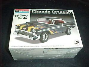 Monogram '56 Chevy Bel Air Classic Cruiser 1 24 Scale Car Model Kit 0881 NIB