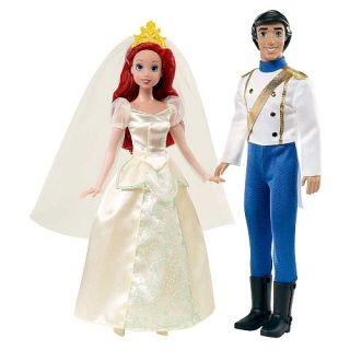 Mattel Disney Princess The Little Mermaid Wedding Ariel Prince Eric Gift Set
