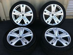 Bentley Continental 20 inch Wheels and Tires with Tire Pressure Monitors