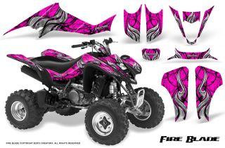 Kawasaki KFX 400 03 08 Graphics Kit Creatorx Decals FBBP