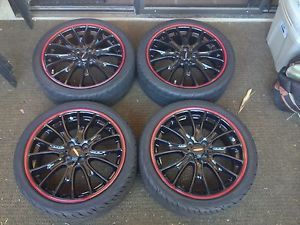 "Mini Cooper JCW John Cooper Works Wheels 18"" with Yokohama s Drive Tires"